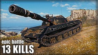 СТАТИСТ против ВСЕХ 🌟 13 ФРАГОВ 🌟 Объект 430У World of Tanks лучший бой на ст 10
