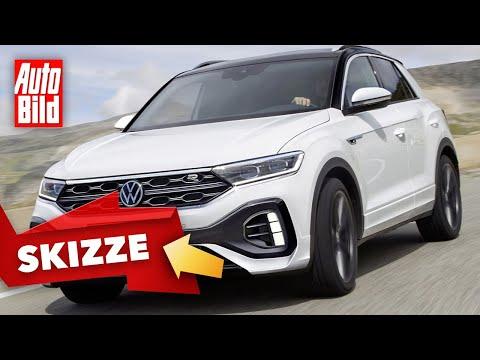 VW T-Roc (2021) |Neues Tagfahrlicht für den frischen T-Roc |Skizze