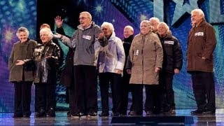 The Zimmers - Britain's Got Talent 2012 audition - UK version
