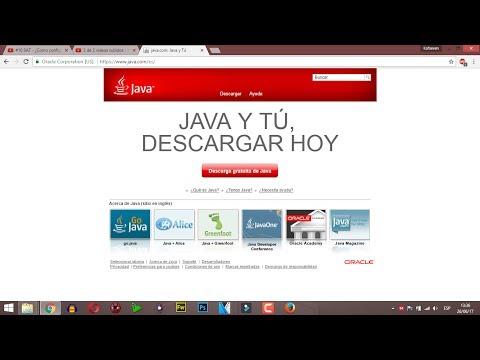 #11 SAT - Descargar y activar Java para trabajar en el SAT