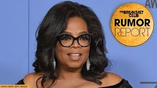 Oprah Delivers Amazing Speech At The Golden Globes