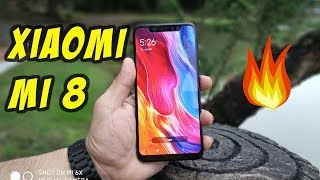 Xiaomi Mi 8 Unboxing and Hands On (English)