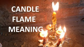 Candle flame meaning & Candle fire interpretation for Magic Spells