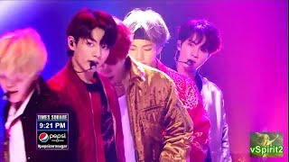 BTS DNA Best Quality New Year's Rockin' Eve 2018 Live Performance