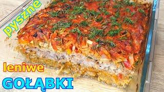 Obłędnie smaczna zapiekanka z kapusty 👌 pyszniejsza od gołąbków 👍 niezwykle proste i smaczne danie-Przepisy kulinarne
