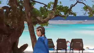 preview picture of video 'Maré Yejele Beach (Niri Bay) - Driving back to Carnival Spirit at Tadine Bay [New Caledonia]'
