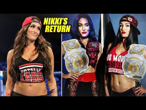 Nikki Bella's MIRACLE RETURN To The WWE! Women's Tag Team Championship Surprise!