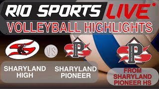 Sharyland High Vs. Sharyland Pioneer Volleyball 10/15 (Highlights)