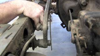 Build Your Willys: Master Cylinder Removal