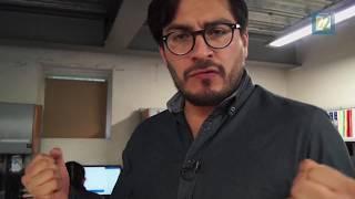 """Huemanzin Rodríguez comenta el libro """"Dr. Atl. Rotación cósmica"""" para Canal 22"""