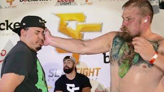 Darius 'the Destroyer' vs Big Mike at SlapFIGHT