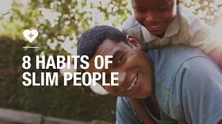 8 habits of slim people