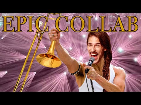 28 trombonists perform Bohemian Rhapsody
