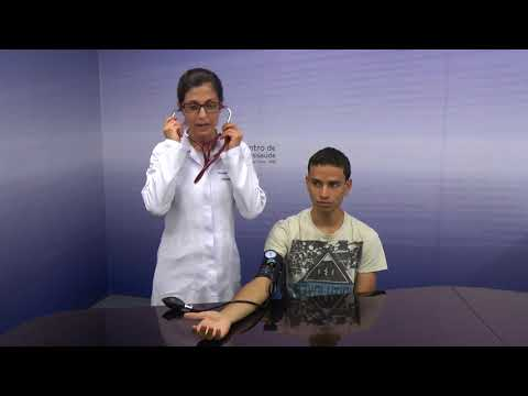 Pressão sanguínea sistólica e diastólica ele
