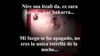 Ken Zazpi - Ilargia (Letra Euskera Y Español) // Bidean