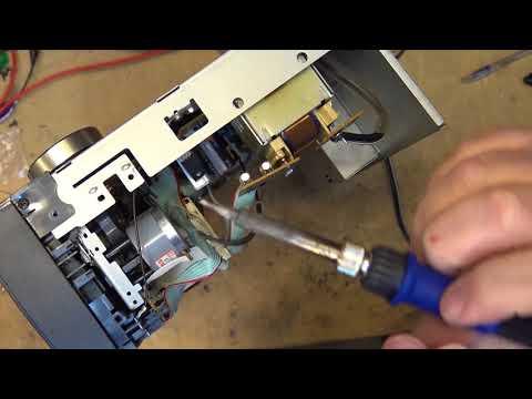 Pioneer CT 07D Dual Cassette deck no sound repair