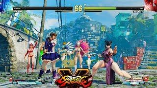 Street Fighter V AE Karin vs Chun Li PC Mod #3