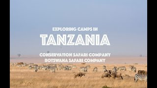 Tanzania Safari Camp Visit - video