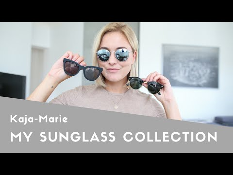 MY SUNGLASS COLLECTION I RAY-BAN, LE SPECS, QUAY - Kaja-Marie