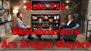 Rule 11: Do Not Bother Children When They Are Skateboarding - Dr. Jordan B Peterson