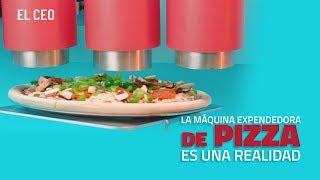 La máquina expendedora de pizza es una realidad