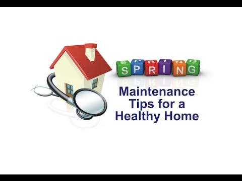 Spring Maintenance Tips for a Healthy Home