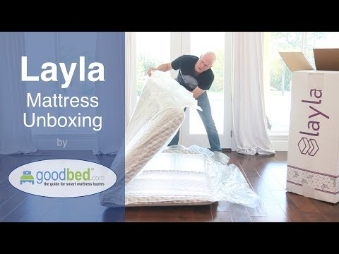 Layla Mattress Unboxing (VIDEO)
