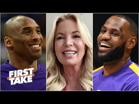 Jeanie Buss interview: How much longer will LeBron play? Should Kobe be the NBA logo? | First Take