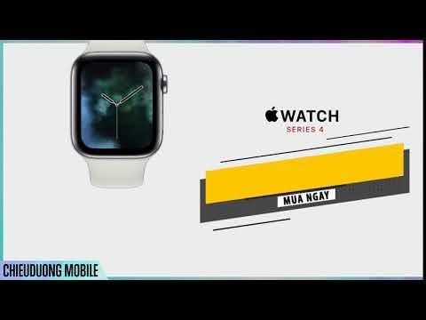 Apple Watch series 4 chính hãng! Giá tốt mua ngay tại Chiêu Dương Mobile APPLE WATCH S4