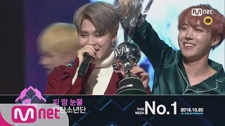 Top In 3rd Of October, 'BTS' With 'Blood Sweat & Tears', Encore Stage! (in Full) M COUNTDOWN 161020