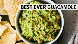 BEST EVER GUACAMOLE | easy, fresh, homemade guacamole