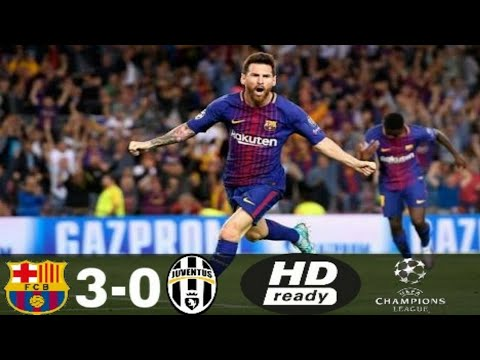 Barcelona vs Juventus 3-0 Full Highlights HD -CHAMPIONS LEAGUE -2017-2018(ENGLISH COMMENTARY)