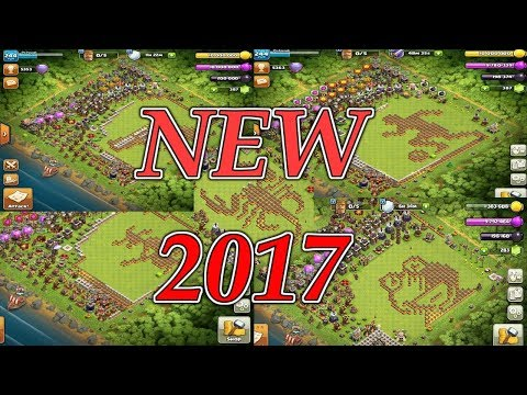 CLASH OF CLANS | TOP-25 WEIRD/FUNNY/UNIQUE/TROLL Bases | COC