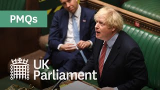 Prime Minister's Questions – 30 September 2020