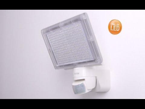 Steinel Faro LED con sensore XLED Home 3 Argento