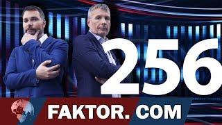 FAKTOR #256: ODDAJA: ŠVICARSKI POSLI Arsenoviča In 2.TIR  (mag. Ivan Simič, Prof. Dr. Jože Duhovnik)