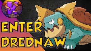 Drednaw  - (Pokémon) - ENTER DREDNAW! Competitive Analysis! Pokemon Sword & Shield