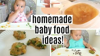 WHAT MY 9 MONTH OLD EATS IN A DAY | HOMEMADE BABY FOOD IDEAS!
