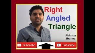 Right Angled Triangle Geometry Part 19 - By Abhinay Sharma (Abhinay Maths)