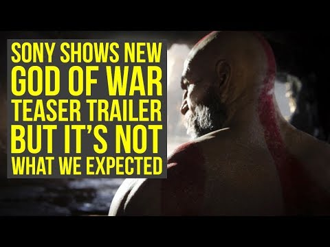 , title : 'Sony Shows New God Of War Teaser That Looked Like God of War 5, But Is Something Else'