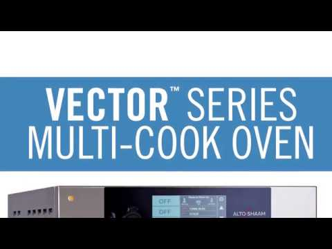 Video 4 Ovens in 1 Vector Multi Cook Oven