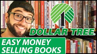$87/HR! EASY MONEY DOLLAR TREE BOOKS VS THRIFT STORE BOOKS RETAIL ARBITRAGE THRIFTING CHALLENGE!
