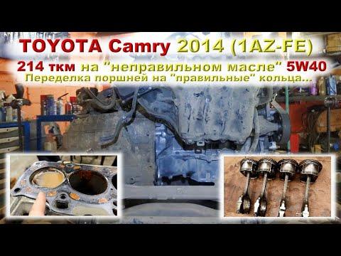 TOYOTA Camry 2014 (1AZ-FE): Капремонт!