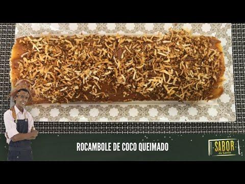 Veja como fazer um Rocambole De Coco Queimado fácil com o Chef Rivandro França no Sabor da Gente