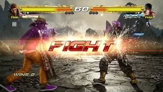 TEKKEN 7 - Jin Kazama Online Ranked Matches #6 - Tekken 3 Costume (1080p 60fps) PS4 Pro