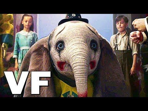 DUMBO Bande Annonce VF # 2 (NOUVELLE, 2019) Tim Burton, Film Disney