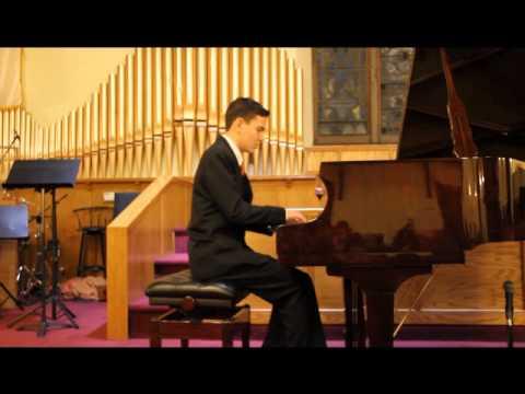 My student's piano recital 2014