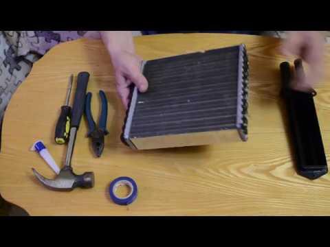 ремонт радиатора печки лада калина