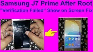 Samsung S7 edge dm-verity verification Failed easy trick