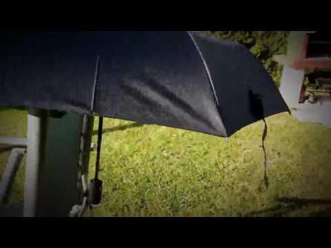 Automatik Regenschirm Taschenschirm windsicher,  Super Wasserabweisung, siehe Video